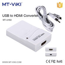 MT-UH02 usb to hdmi for pc to hdtv 1080P super speed USB 3.0/2.0 to hdmi graphics converter cable adapter for multiple