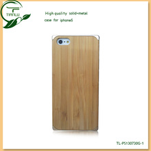 Hot Stylish Fancy wood Hard aluminum Cheap Mobile Phone Case for Iphone5 5G,unique design