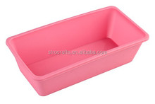 Custom food grade silicone loaf baking pan