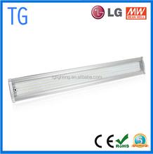 High lumen 1200mm 150w led lumen bay light, 120lm/w 150w 18000lm linear high bay 5 years warranty