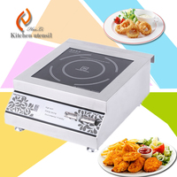Good quality 220V 3800w kitchen appliance Commercial induction cooker with circuit board