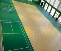 Chinese manufacture moisture-proof vinyl floor covering for indoor sports court