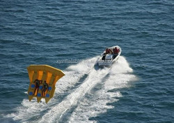 wholesale summer inflatable toys/inflatable banana boat/ flying fish boat