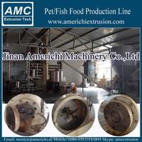 Kibble dog pet food processing machine