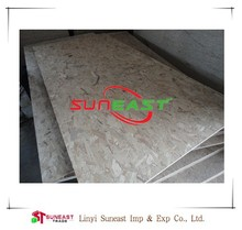 Linyi Suneast OSB for pallet,packing grade OSB for Middle East market
