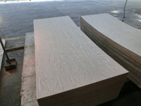 3*7 door skin size laminated plywood or mdf board with red oak veneer face