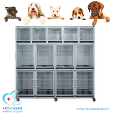combinatorial three layers stainless steel laboratory animal cage