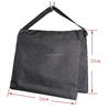 black photography studio stage film light stand balance weight sand bag