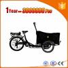 electric family cargo trike leasure bike trike
