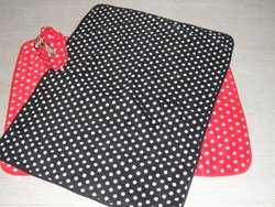100% polyester polar fleece simple blanket dot design