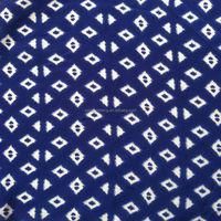 viscose rayon filament yarn twill fabric with simple print design