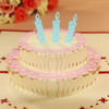 Happy cake for birthday Pop up card birthday card 3d card