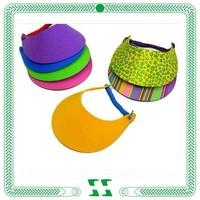 high quality sun visor for promotion
