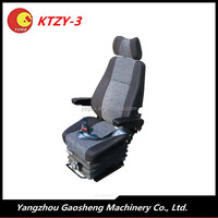 Construction Machinery Equipment Excavator Seat With Suspension/KTZY-3/China Famous Engineering Vehicle Seat Manufacturer Made.