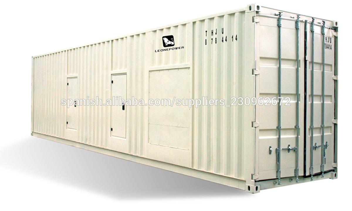 50hz contenedor industrial generadores el ctricos diesel - Precios generadores electricos ...