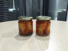 High Quality Seafood Bottled Mandarin Baby Squid in Oil (Fish)