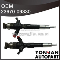 Diesel injector 1KD-FTV for Toyota repair Common Rail Injector For Hilux Hiace Fortuner 23670-09330