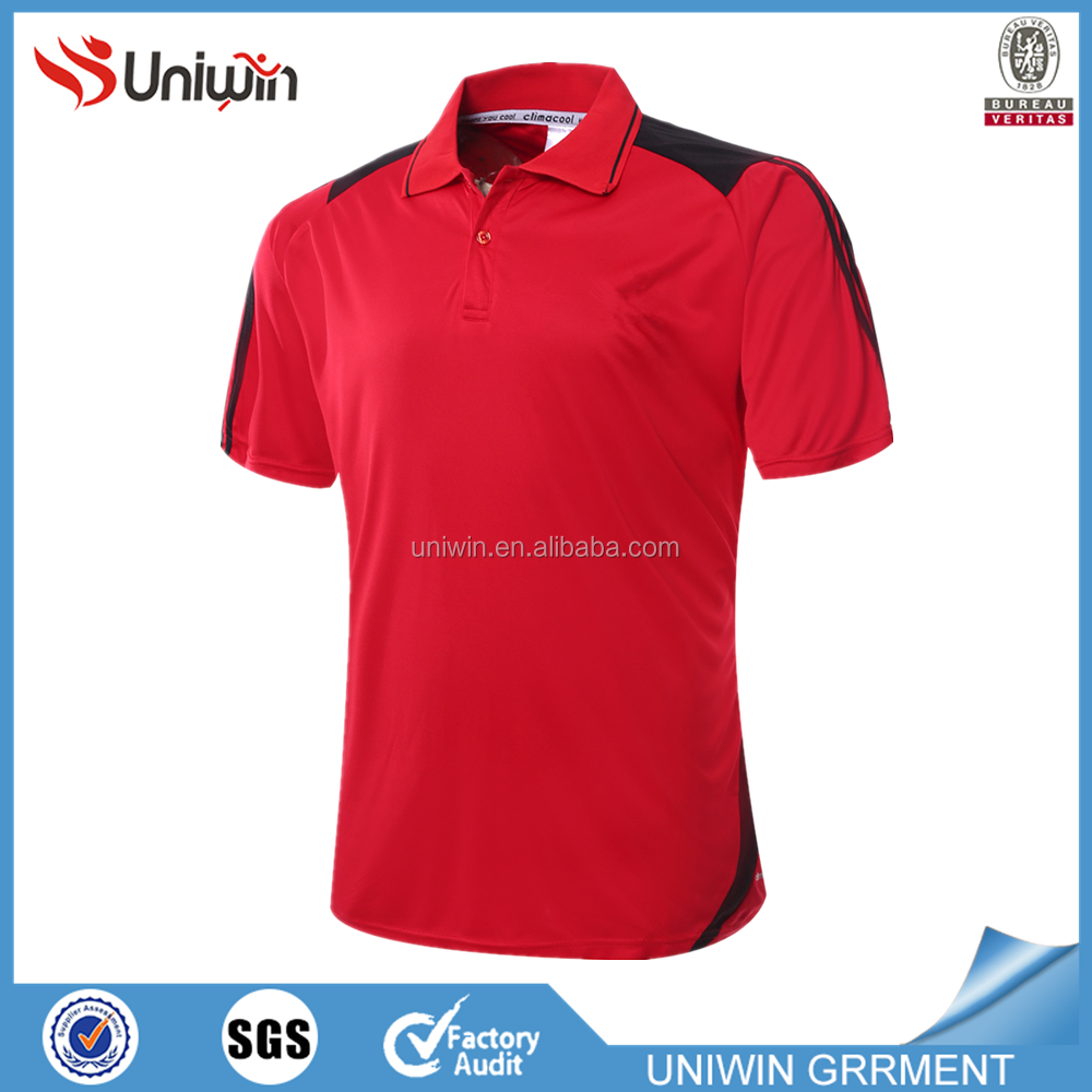 In stock branded polo shirts custom logo jerseys soccer for Personalised logo polo shirts