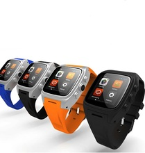 Touch Screen Size 1.54ich Control Method Finger Point and Gesture bluetooth smart watch phone