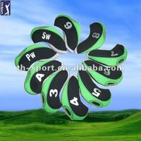 Neoprene Golf Iron Club Headcovers