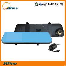 Full hd video,factory direct full hd video,rearview mirror twin car camera