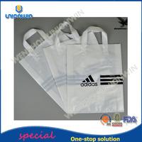 latest design free design eco plastic carrier bag /plastic shopping bag for clothing