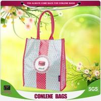 custom pp woven carrying bags shopping, wedding gift bag
