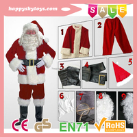 Funny toys !!!Best selling christmas items,cute christmas costumes,hot sale santa christmas dance costume