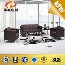 new model leather sofa leather office sofa luxury hand carved sofa set S853