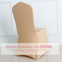 new style champagne g shining spandex ,nylon spandex chair cover