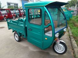 three wheel cabin tricycle with passenger seat for south africa