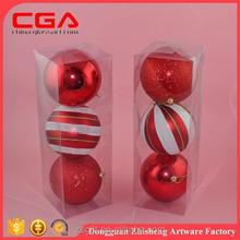 christmas balls plastic balls for christmas tree hanging ornaments