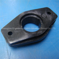 engineering OEM & ODM black plastic nylon injection parts with mould