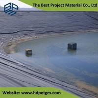 Geomembrane HDPE Pool Liner and Aquacultur Plastic Fish Tank Lining