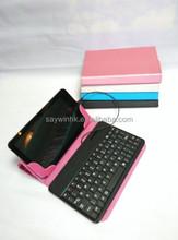 2015 nueva caja del teclado con la computadora ajustable soporte del teclado