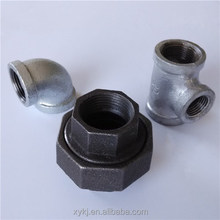 Galvanized & Black Malleable Iron Pipe Fittings union