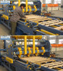 SF901 nailing machine for pallet stringers , stringer pallet nailing machine stinger pallet nailing line