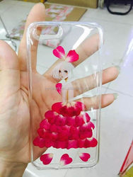 whole sale factory price Dry pressedl flower case natural fresh real flower designed phone case for smartphone