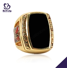 Black painting Nebraska Football fine gold jewellery