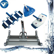 Durable swimming stainless steel pool vacuum head , pool cleaning equipment