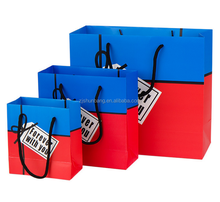manufacturer wholesale custom recycle printed shopping paper bag