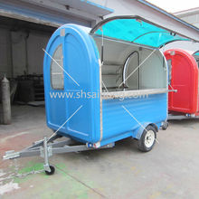 Outdoor fast food kiosks and food vans Made in China