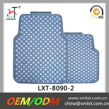 diamond pattern blue good quality car floor mat in China