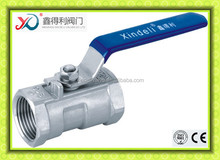 Q11F-16P SS316 one piece ball valve PN16