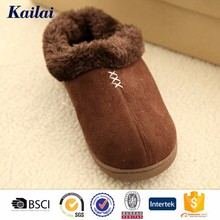 Coffee outdoor&indoor cheap Chinese slippers for men