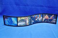 Custom acrylic photo strip frames, plastic strip for picture frames, film strip picture frames
