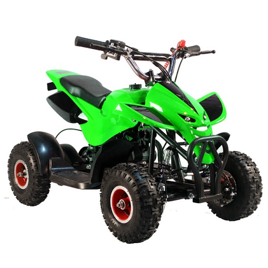 <span class=keywords><strong>4</strong></span> wheeler <span class=keywords><strong>2</strong></span> <span class=keywords><strong>tiempos</strong></span> refrigerado por aire Mini Quad ATV 4x4 49CC