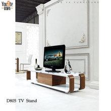 muebles para el hogar chapada en madera tv mesa Soporte estante