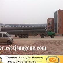 B36. 10 M estándar LSAW / DSAW tubería de línea de acero al carbono API 5L estándar