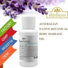 Australian native botanical body massage green oil for men massage oil name